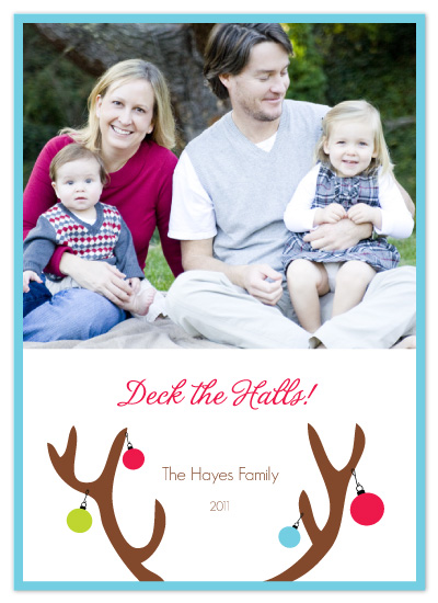 holiday photo cards - Deck the Halls by Whitney Beard