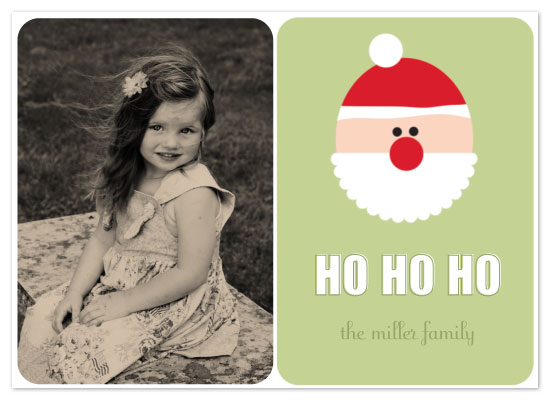 holiday photo cards - Ho Ho Ho by Courtney Michelle Designs