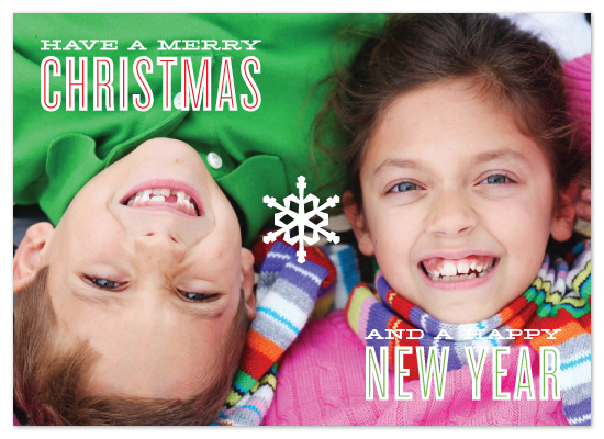 holiday photo cards - From the Kids by Jillian Van Weelden