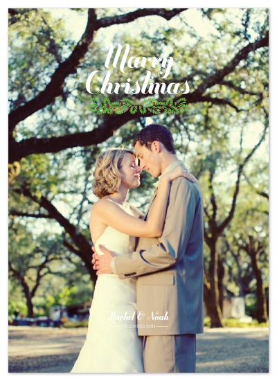 holiday photo cards - First Christmas by Jillian Van Weelden
