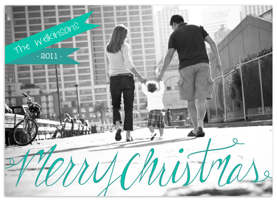 holiday photo cards - Bright Banners by Angela Scheffer