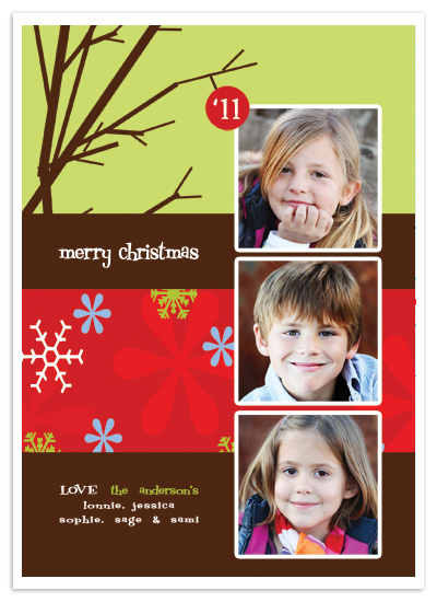 holiday photo cards - Twigs by Stephanie Pearson