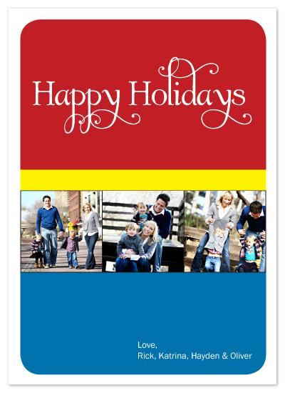 holiday photo cards - Crayola Christmas by Katrina Mitchell