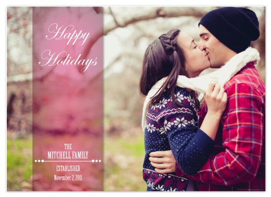 holiday photo cards - Newly Established by Katrina Mitchell