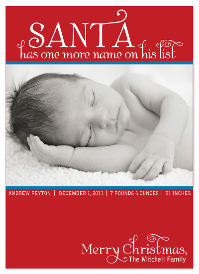 holiday photo cards - Santa's New Stop by Katrina Mitchell