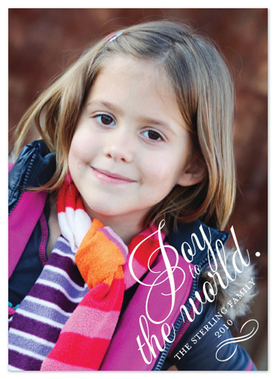 holiday photo cards - full of joy by eskimo design