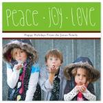 Peace, Joy and Love by Kelly Preusser