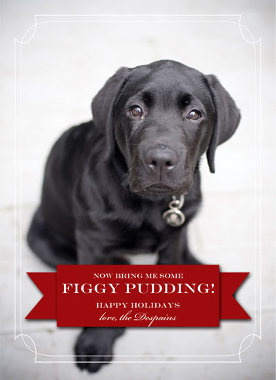 holiday photo cards - Figgy Pudding by Kelli Despain