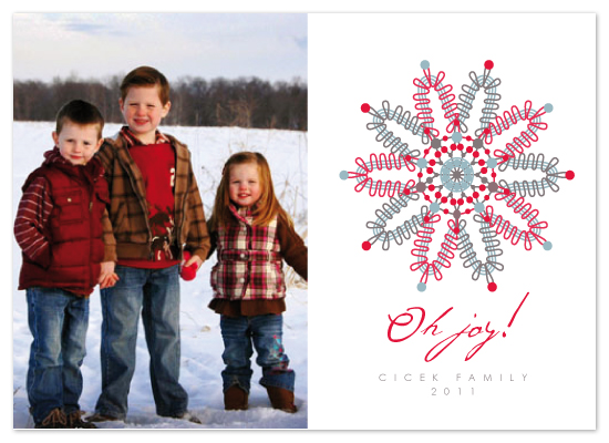 holiday photo cards - OH JOY by Mónica Pérez Álvarez