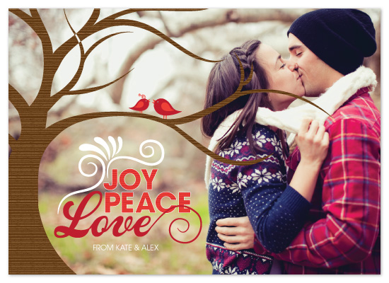 holiday photo cards - Love is in the air by Neeti Kapadia
