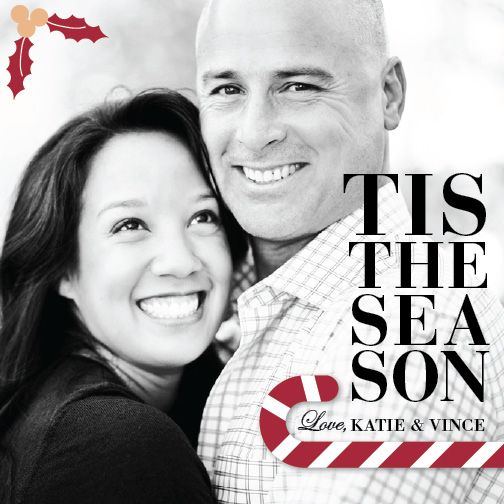 holiday photo cards - Tis The Season to be Sweet! by carrie luu