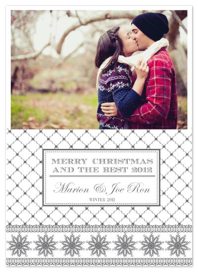 holiday photo cards - CLASSY CHRISTMAS by Mónica Pérez Álvarez