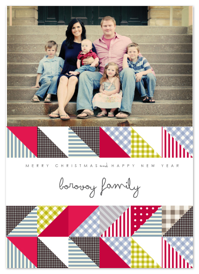holiday photo cards - PATCH & LOVE by Mónica Pérez Álvarez