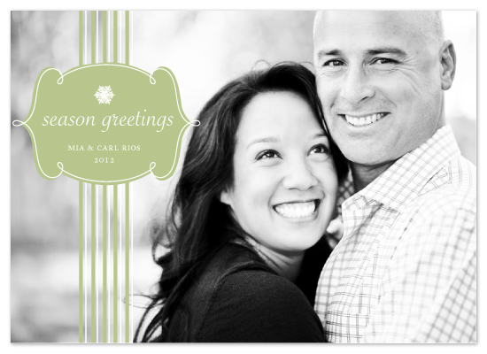 holiday photo cards - Soft Seasons Greetings by MelStudio
