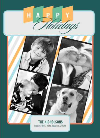 holiday photo cards - Holiday Photo Booth by Egg City Arts