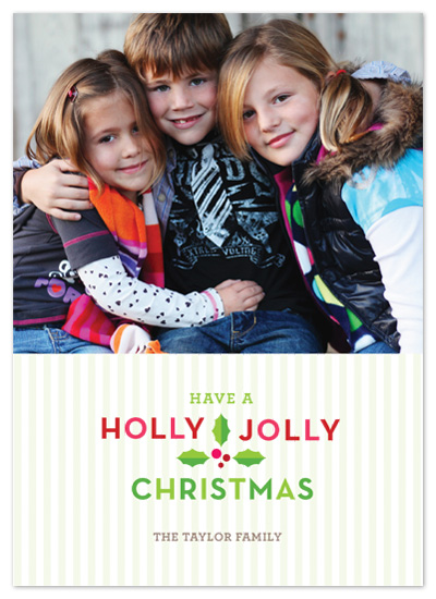holiday photo cards - Holly Jolly Christmas by Tracy White Taylor