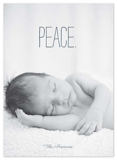 holiday photo cards - Heavenly Peace by Push Papers