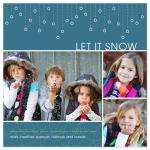 Let It Snow Holiday Car... by Melissa Albers