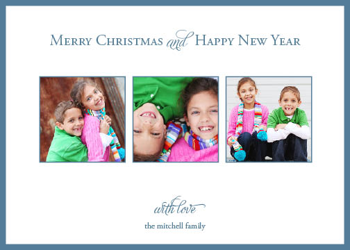 holiday photo cards - Children are Happiness by Jessica Jenkins
