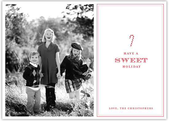 holiday photo cards - Sweet Holiday by Lindsey Chin-Jones