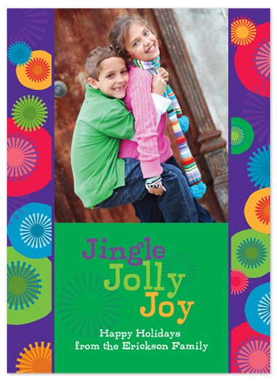 holiday photo cards - Jingle Jolly Joy by Marcia Copeland