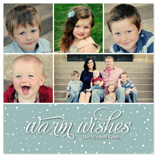 holiday photo cards - Snow Flurries by Jennifer Sutherland