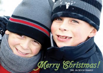 Fresh and Minimal Merry Christmas