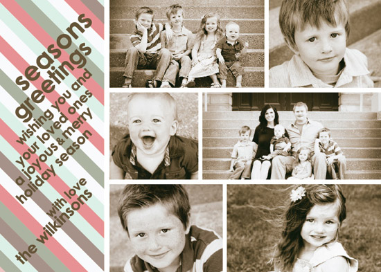 holiday photo cards - A Photographic Seasons Greetings! by carrie luu