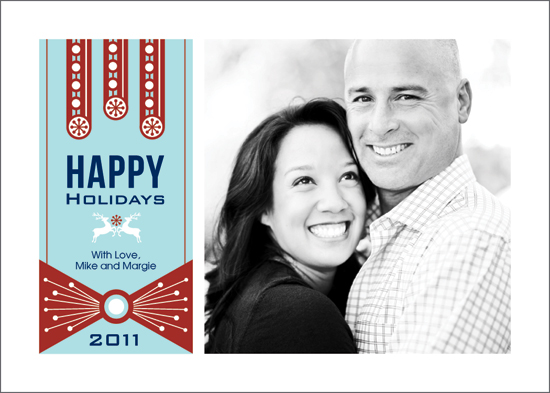 holiday photo cards - Happy Holidays by JMarie Design