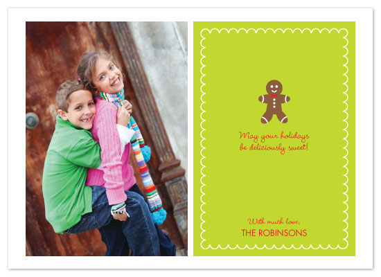 holiday photo cards - Deliciously Sweet by Joie Studio