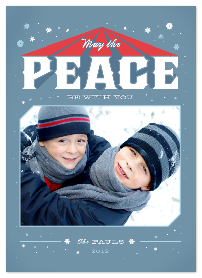 holiday photo cards - Holiday Wars by Jacks Master