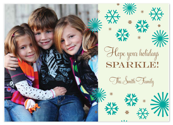 holiday photo cards - Holiday Sparkle by Joie Studio