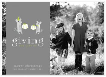 The Gift of Giving  |  Mousey