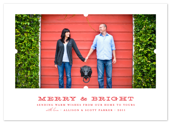 holiday photo cards - notch by Toast & Laurel