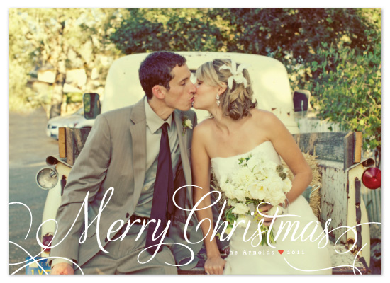 holiday photo cards - Classic Merry by Alston Wise