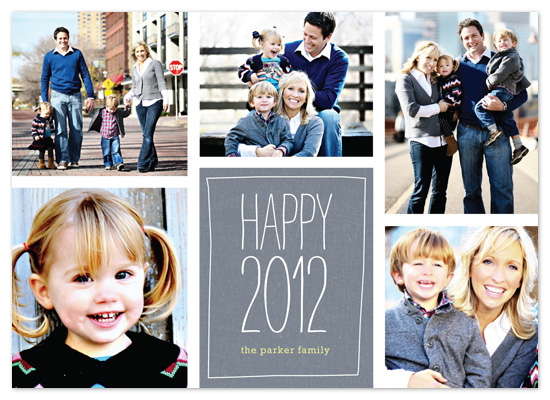 holiday photo cards - Random 2012 Collage by Amy Sheridan