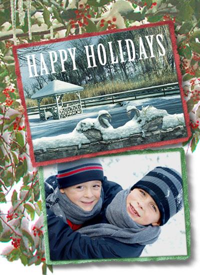 holiday photo cards - holiday landscape by John Sposato