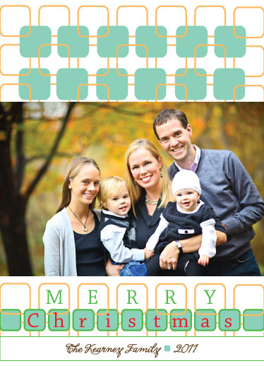 holiday photo cards - Trellis Greetings by Paper Parfait