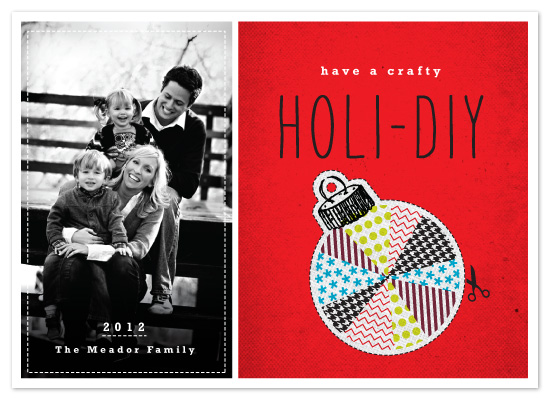 holiday photo cards - Holi-DIY by J design