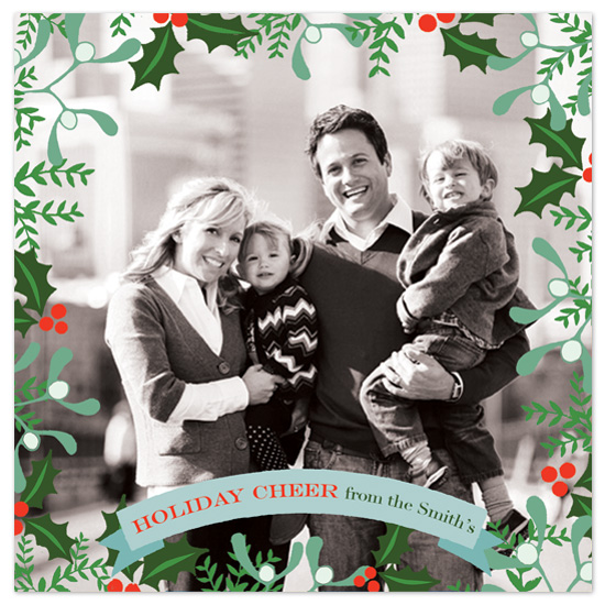 holiday photo cards - Holiday Cheer by Jeannene Langford