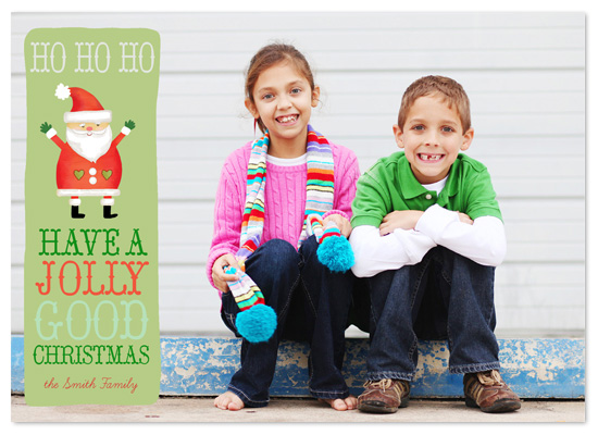holiday photo cards - Ho Ho Ho by Jeannene Langford