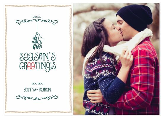 holiday photo cards - HOHO XOXO by Jacks Master
