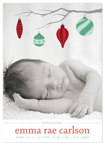 holiday photo cards - Ornament Mobile by Iron Range Artery