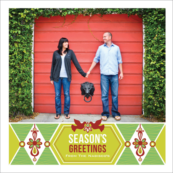 holiday photo cards - Season's Greetings! by JMarie Design