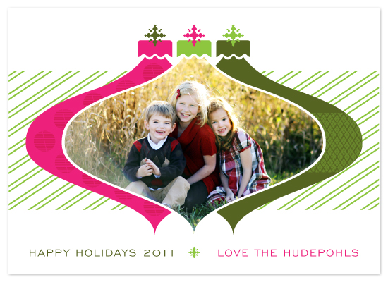 holiday photo cards - retro ornaments by StudioTM