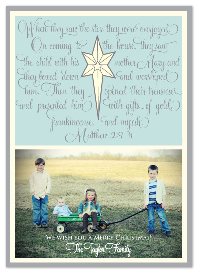 holiday photo cards - The Christmas Star by Kristin Taddey