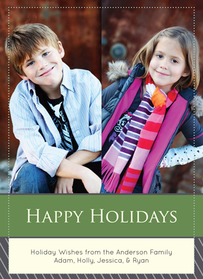 holiday photo cards - Holiday WIshes by MJ Phelps