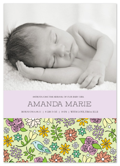 birth announcements - Little Moments by Jules and Ink