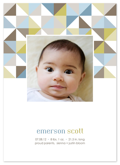 birth announcements   mod squad at minted