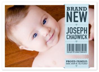 Brand New Baby Tag